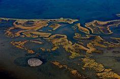Yann Arthus Bertrand Ebro river delta Catalogne, Espagne