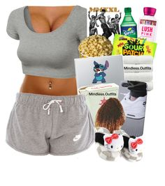 """""""."""" by renipooh ❤ liked on Polyvore featuring J.TOMSON, Linum Home Textiles and Hello Kitty"""