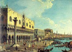 """""""Riva degli Schiavoni Looking East"""" - Canaletto"""