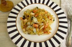 Bacalhau à Brás com camarão | Food From Portugal