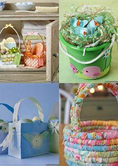 Easter Basket Craft Ideas - Easter Kids Craft | Vanilla Joy
