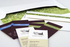 Stationery package for a local property development.