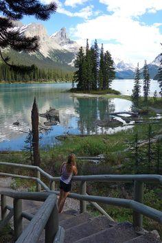 Spirit Island, Maligne Lake, Jasper National Park Alberta, Canada