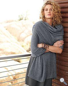 Cashmere wrap... Perfect travel accessory