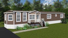Rhaye - Mini Home - Floor Plan 1103 sq ft. 3 bed. 2 bath Mobile Home Floor Plans, House Floor Plans, Kent Homes, Single Wide Mobile Homes, Remodeling Mobile Homes, Home Remodeling, Cottage Plan, Rv Trailers, Home Design Plans