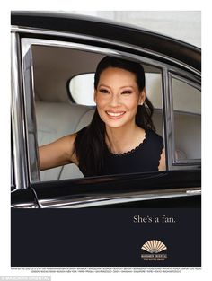 """Lucy Liu is the latest celebrity to come out as a """"fan"""" of Mandarin Oriental Hotels for their ongoing advertising campaign. Lucy Liu, Kill Bill, Sherlock Holmes, Helen Owen, Miss Philippines, Jackson, Ally Mcbeal, Dame Helen, Liam Neeson"""