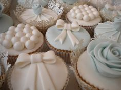 Bruidscupcakes van Zoet! in Burgum Friesland