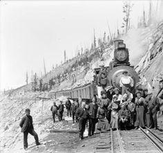 Colorado Midland R.R. Engine No. 1 at Hell Gate