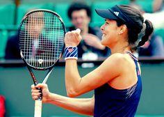 Ana Ivanovic @JugamosTenis #tennis #tenis #RolandGarros