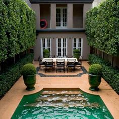 diy home decoration narrow lot with completely private pool exterior tutorstyle design pictures remodel decor and ideas - Garden Design Long Narrow Plot