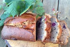 Jenni Sherington's wonderful gluten free banana, walnut and blackberry loaf is made with our split yellow pea flour.When we first met Jenni Sherington at the Aldeburgh Food and Drink Festival, she was offering samples of her healt. Gluten Free Vegetarian Recipes, Veggie Recipes, Whole Food Recipes, Paleo, Flour Recipes, Gluten Free Banana, Gluten Free Flour, A Food, Food And Drink