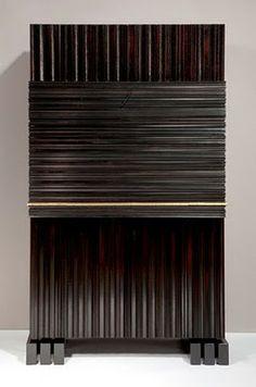 Herve Van Der Straeton, Soulages Writing Desk.