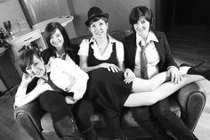 Margaux, Laura, Estelle et Marie
