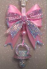 prams in Pushchairs and Prams Bling Baby Shower, Baby Bling, Pram Charms, Rhinestone Crafts, Cross Necklaces, Braids With Beads, Baby Shower Desserts, Dummy Clips, Baby Prams