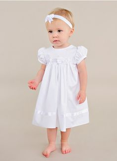 d174ae51e Pretty LDS blessing dress. | Sarah Christening Dresses from  www.OneSmallChild.com Girls. One Small Child
