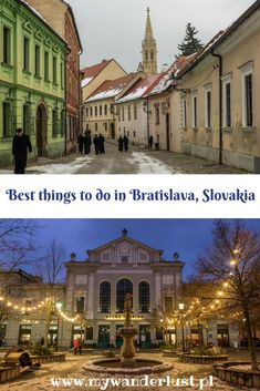 The ultimate list of things to do in Bratislava, Slovakia Travel Around The World, Around The Worlds, Stuff To Do, Things To Do, Europe Train, Bratislava Slovakia, Train Travel, Train Trip, Backpacking Europe
