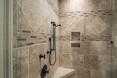Bath tile idea for shower