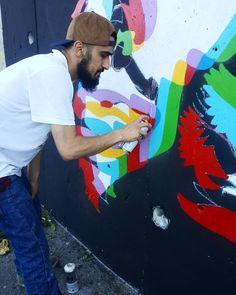 "897 Beğenme, 7 Yorum - Instagram'da MET #meturkmen (@meturkmen): ""Progress 👊""   #streetart#streetartparis#streetartphotography#streetartist#urbanart#urbanwalls#urbanartist#graffiti#graffitiart#grafittiwall#graffitiartist#art#artiste#artistederue#nasti#ruechappe#montmartre#abbesses#paris18#photo#photoday#photooftheday#streetphoto #turkey #istanbul"