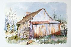 Le vieux garage | Joël SIMON