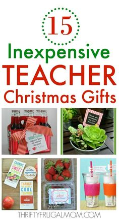 These cheap teacher Christmas gift ideas are fun practical and sure to be appreciated! Plus they are all easy to make too! These cheap teacher Christmas gift ideas are fun practical and sure to be appreciated! Plus they are all easy to make too! Neighbor Christmas Gifts, Inexpensive Christmas Gifts, Diy Christmas Gifts For Family, Homemade Christmas Gifts, Holiday Gifts, Fun Gifts, Teacher Christmas Ideas, Christmas Presents For Teachers, Best Gifts For Teachers