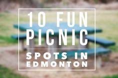 Edmonton Picnic Spots - Also the Alberta Legislature Grounds - So much fun.