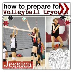 """how to prepare for volleyball tryouts"" by the-daily-magazine-xo ❤ liked on Polyvore"