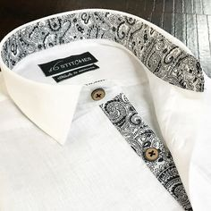 Not so Black n White! Design your own shirts at 16Stitches.com #madetomeasure #menswear #mensstyle #mensfashion #summer #style #fashion #trend #trendy #shirts #luxury #formal #fb #formals #formalwear #classy #classic #classymen #dapper #dappermen #instalike #instagood