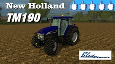 Review New Holland TM190 Blue Power #FS15
