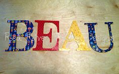 Outer Space Nursery Decor Nursery Wall Letters by RedRiverValley, $20.00