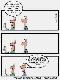 Programming Humor   Notepad++ - Google+ #funny #geek_humor