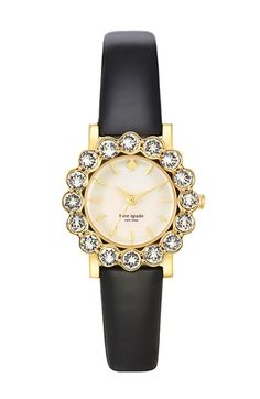 Kate Spade crystal bezel watch