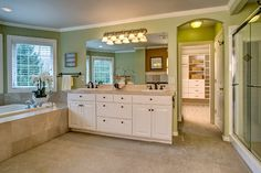 Tan Tile With Grey Walls For The Home Pinterest