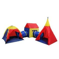 Large Giant Play Tent Childrens Pop up Indoor Outdoor Tunnel Set  sc 1 st  Pinterest & Charles Bentley Childrenu0027s 3 in 1 Adventure Play Tent Set with Tunnel