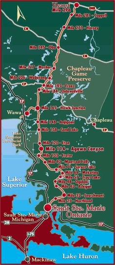 Agawa Canyon Tour Train from Sault Ste. Canada Travel, Canada Trip, Canada Eh, Vacation Places, Best Vacations, Train Route, Richest In The World, Northern Michigan, Canoes