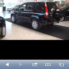 2005 Honda CRV  Black.