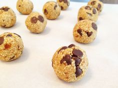 No Bake Cookie Dough Bites | The Body Department
