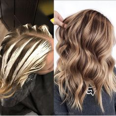 One of my fave placements for creating ribbons and a strong money piece 🎨 Sometimes I'll root shadow a little if their base is a level 7 or… Beige Blonde, Brunette To Blonde, Blonde Hair, Hair Color For Women, Hair Color And Cut, Level 7 Hair Color, Hair Color Placement, Hair Levels, Carmel Hair
