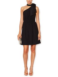 Jillian Bow Shoulder Dress from Shoshanna on Gilt