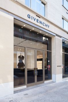 Givenchy gets ready to take New York with a new store and a major runway show during Fashion Week. [Photo: Nicholas Calcott]