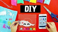 DIY - Faça um Móbile usando Beads 💜💛💙