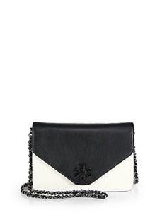 Tory Burch - Kira Two-Tone Envelope Shoulder Bag