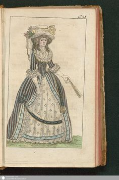 Journal des Luxus und der Moden, Tafel 25, September 1788.