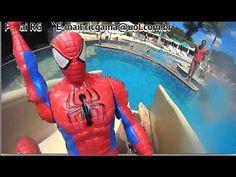 Spider Man Homem Aranha  Marvel Tobogã Toboggan Piscina Swimming Pool Br...