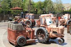 CarsLand!!!  Can Not wait!  Maters Junkyard Jamboree