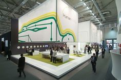Temporary Exhibition Design | Shortlisted | Humanscale stand, Orgatec| Design Week Awards 2009
