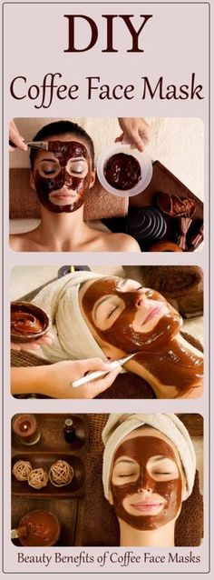 Beauty Benefits of Coffee Face Masks – DIY - Healthy Beauty Ways Diy Mask, Diy Face Mask, Healthy Beauty, Health And Beauty, Beauty Care, Diy Beauty, Beauty Tips, Beauty Hacks, Beauty Secrets