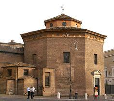 Rom, Baptisterium San Giovanni in Fonte (Baptistery San Giovanni in Fonte)