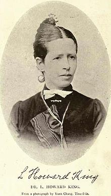 Leonora King - Canadian physician and medical missionary who spent 47 years practicing medicine in China. She was the FIRST Canadian doctor to work in China ~ Wikipedia