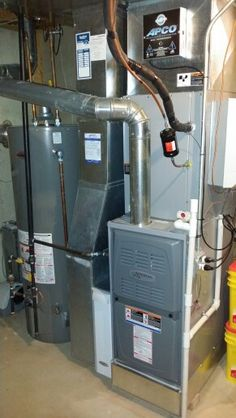 Amana 2stage, variable speed downflow 80 noncondensing
