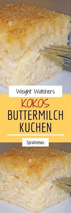 Kokos – Buttermilch – Kuchen Zutaten 3 Tasse/n Zucker 2 Tasse/n Buttermilch 1 Prise(n) Salz 1 Pck. Vanillinzucker 3 Ei(er) 4 Tasse/n. Berry Smoothie Recipe, Easy Smoothie Recipes, Easy Smoothies, Good Healthy Recipes, Snack Recipes, Coconut Milk Smoothie, Homemade Frappuccino, Grilled Fruit, Pumpkin Spice Cupcakes